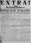 St. Cloud Tribune Vol. 18,  Extra, March 22, 1927
