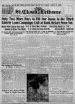 St. Cloud Tribune Vol. 09, No. 36, May 02, 1918