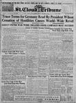 St. Cloud Tribune Vol. 11, No. 10, November 14, 1918