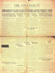The Collegiate, Vol. 01, No. 06, April 27, 1927 by John B. Stetson University