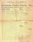 Stetson Collegiate, Vol. 33, No. 17, February 3, 1925 by Stetson University