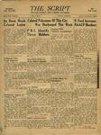 The Script, Vol. 01 No. 05, August 10, 1946 by The Script