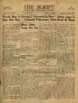 The Script, Vol. 01 No. 06, August 17, 1946 by The Script