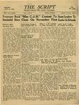 The Script, Vol. 01 No. 16, October 26, 1946 by The Script