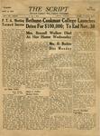 The Script, Vol. 01 No. 17, November 02, 1946 by The Script