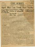 The Script, Vol. 01 No. 19, November 16, 1946 by The Script