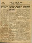 The Script, Vol. 01 No. 20, November 23, 1946 by The Script