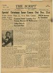 The Script, Vol. 01 No. 22, December 07, 1946 by The Script
