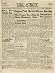 The Script, Vol. 01 No. 27, January 25, 1947 by The Script