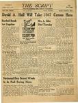 The Script, Vol. 01 No. 29, February 08, 1947 by The Script