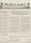 This Week in Sanford, Vol. 02, No. 01, July 19, 1926