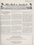 This Week in Sanford, Vol. 02, No. 05, August 16, 1926 by Arthur R. Curnick and J. Henry Wulbern