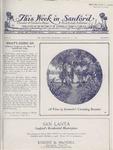 This Week in Sanford, Vol. 02, No. 06, August 23, 1926