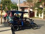 Bicitaxi in Cienfuegos, Cuba B by Wendy S. Howard EdD
