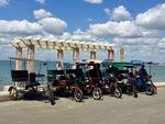 Bicitaxi in Cienfuegos, Cuba C by Wendy S. Howard EdD