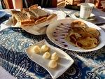 Tourist Breakfast in Cuba A by Wendy S. Howard EdD