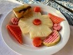 Tourist Breakfast in Cuba B by Wendy S. Howard EdD