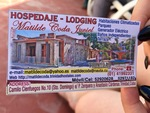 Business Card for Lodging in Cuba by Wendy S. Howard EdD