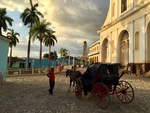 Horse and Carriage in Trinidad, Cuba by Wendy S. Howard EdD