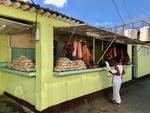 Meat for Sale in Cuba by Wendy S. Howard EdD