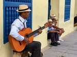 Cuban Guitarist by Wendy S. Howard EdD