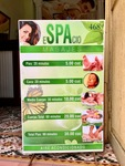 Spa Services Sign in Cuba by Wendy S. Howard EdD