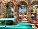 Outdoor Restaurant in Cuba by Wendy S. Howard EdD