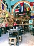 Restaurant in Trinidad, Cuba by Wendy S. Howard EdD