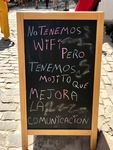 Sign about WiFi and Communication by Wendy S. Howard EdD