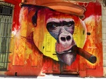 Havana Street Mural by Wendy S. Howard EdD