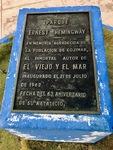 Memorial to Ernest Hemingway by Wendy S. Howard EdD