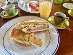 Cuban Breakfast Sandwich by Wendy S. Howard EdD