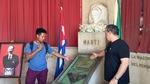 Bust of José Martí by Wendy S. Howard EdD