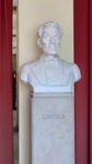 Bust of Abraham Lincoln by Wendy S. Howard EdD