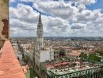 Aerial View of Iglesia del Sagrado Corazón de Jesús, Havana A by Wendy S. Howard EdD