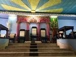 Ceremonial Chamber in the Havana Masonic Lodge C by Wendy S. Howard EdD
