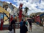 Callejón de Hamel in Havana, Cuba A by Wendy S. Howard EdD