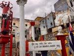 Callejón de Hamel in Havana, Cuba F by Wendy S. Howard EdD