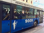 Bus in Havana by Wendy S. Howard EdD