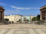 View from Steps of the University of Havana A by Wendy S. Howard EdD