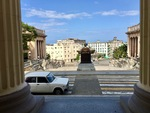 View from Steps of the University of Havana B by Wendy S. Howard EdD