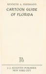 Cartoon Guide Of Florida, 1938