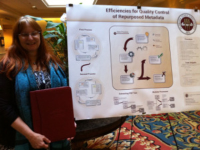 "Poster Presentation from FSU: ""Efficiencies for Quality Control of Repurposed ETD Metadata"""