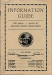 Information guide: for 1928-29.