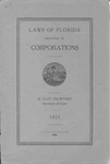 Laws of Florida relating to corporations.