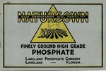 Natursown: the finely ground high-grade phosphate for heavy crops and permanent soil fertility.