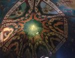 Ceiling of smaller dome within St. Basil's by Erin G. Foley