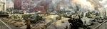 Battle of Berlin Diorama by Wendy S. Howard EdD