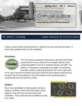 The Subject Librarian Newsletter, Criminal Justice, Spring 2015