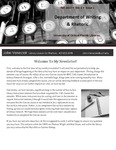 The Subject Librarian Newsletter, Writing & Rhetoric, Fall 2013